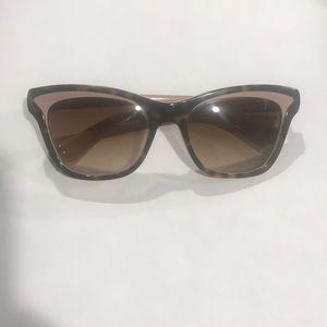 Rare Prada Blush Tortoise Sunglasses